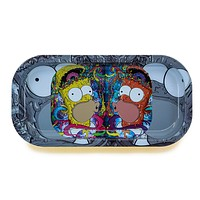 Simsons Metal Rolling Tray