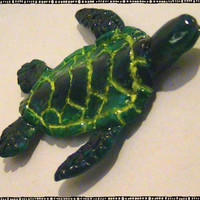Sea Turtle Polymer Magnet