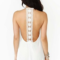 Field Daze Dress - White
