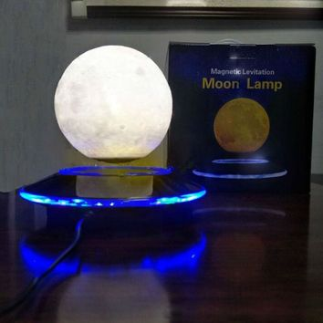 Levitating LED Moon Lamp