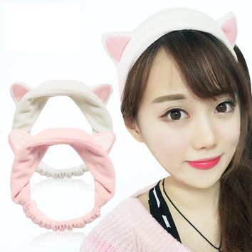 Cat Ear Hair Head Band Hairbands Headbands Party Gift Headdress Headwear Ornament Trinket Hair Accessories Makeup Tools