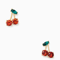 ma chérie cherry studs | Kate Spade New York