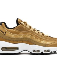 HCXX Nike Womens Air Max 95 Metallic Gold