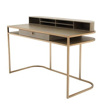 Brass Desk | Eichholtz Highland