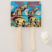 Apache Trail #1 Hand Fan