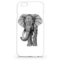 Elephant Trend Iphone 6 Case, Iphone 6 Hard Cover Case (For Apple Iphone 6 4.7 Inch Screen)- Emerishop (AH57)