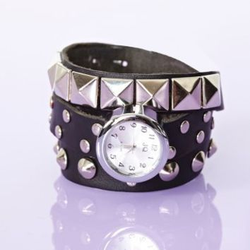 Metal Head Wrap Watch