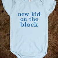 New Kid On The Block - Baby Onesuit - Tee Time Baby
