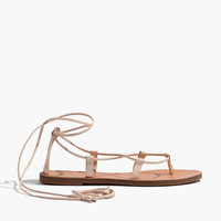 The Boardwalk Lace-Up Sandal : | Madewell