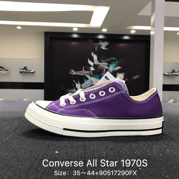 Converse Chuck Taylor All Star 1970s Purple  Low Canvas Shoes