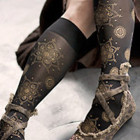 Socks   Socks  Polonova Mehndi Trouser Socks  Sock Dreams