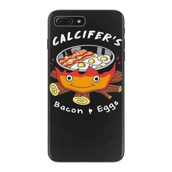 calcifer's bacon and eggs iPhone 7 Plus Case