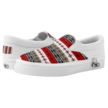 Custom Slip On ZIPZ® Shoes