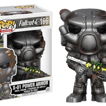 X-01 Power Armor Fallout 4 Funko Pop! Vinyl Figure #166