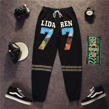 Hip-hop Casual Sports Pants [9302652103]