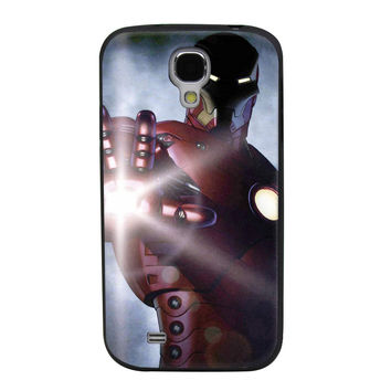Iron Man TPU Soft Shell Jelly Silicone Case for Samsung Galaxy S4
