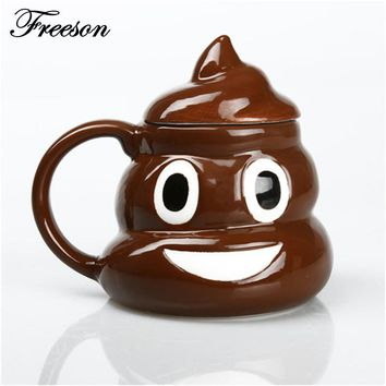 Emoji Poop Coffee Mug