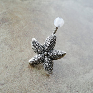 Starfish Belly Button Ring Jewelry