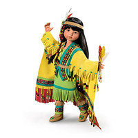 """""""Shawl Dancer"""" Native American-Inspired Ball-Jointed Doll"""