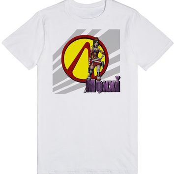 Borderlands Mad Moxxi and Pandora's Vault Logo | T-Shirt | SKREENED