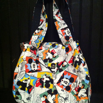 Mickey Mouse Comic Purse