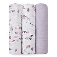 aden + anais Organic Swaddle 3-Pack, Once Upon a Time