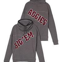 Texas A&M University Cowl-Neck Pullover - PINK - Victoria's Secret