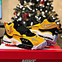 Nike Air Max Speed Turf Men Women Personality Sport Running Shoes Sneakers Yellow