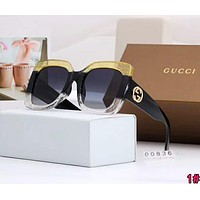 GUCCI Popular Women Men Casual Summer Sun Shades Eyeglasses Glasses Sunglasses 1#