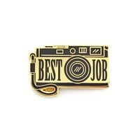 Best Job Camera Pin