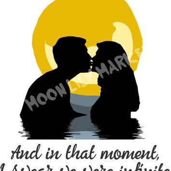 Love svg | SVG Cut Files | Silohuette Machine SVG Files | Cricut Cut Design Files | Moon Graphics | SVG Quote | Silohuette ClipArt Graphics