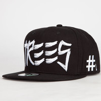 Blvd Trill Trees Mens Snapback Hat Black One Size For Men 24427410001