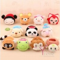 Various of Lovely Stuffed Animal Mobile Phone Holder Cute Plush Phone Set Case