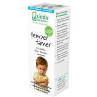 Sidda Flower Essences Temper Tamer - Kids - Age Two Plus - 1 Fl Oz