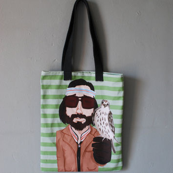 etsy fashion RichieTenenbaum Tote Bag