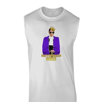 Notorious RBG Muscle Shirt  by TooLoud