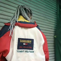 Tommy Hilfiger Fashion Trend Oversize Colorblock Jacket