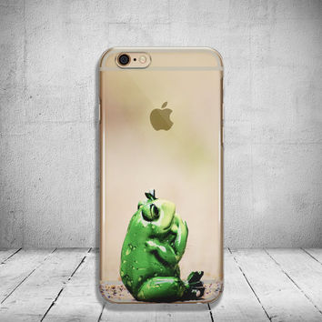 Funny Frog iPhone 6s Case Clear iPhone 6 Case Clear iPhone 6 Plus Case iPhone 5s Case iPhone 6s Plus Case Soft Silicone iPhone Case No: 78