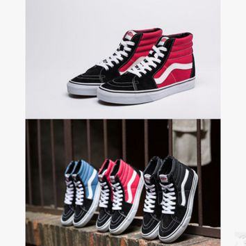 """VANSVIM"" Classic Multicolor Unisex Casual High Help Shoes Canvas Shoes Couple Shoes Sneakers"