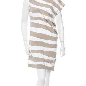 balenciaga striped dress w tags 2