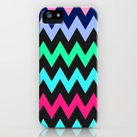 Zigzag #4 iPhone & iPod Case by Ornaart