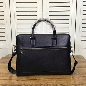 PRADA MEN LEATHER CASUAL BAG