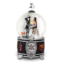 Tim Burton's ''The Nightmare Before Christmas'' Sally and Jack Skellington Snowglobe | Snowglobes (Full Size) | Disney Store