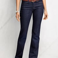 Women's Fit 2 Denim Boot-cut Jeans from Lands' End