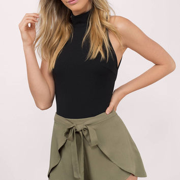 Joselyn Front Tie Shorts