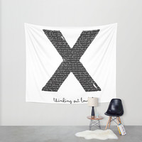 Ed Sheeran Wall Tapestry by Katherine GM