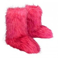 Faux Fur Booties With Shine | Girls Slippers Shoes | Shop Justice