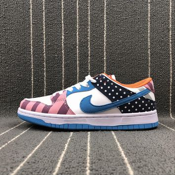 Nike SB Dunk TRD QS Parra Multe Color Sport Running Shoes - Best Online Sale