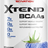 Scivation XTend BCAAs Blue Raspberry 30 Servings | DICK'S Sporting GoodsProposition 65 warning iconProposition 65 warning icon