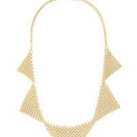 ModCloth Statement Angular Accent Necklace